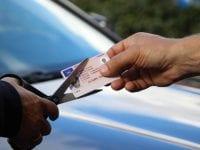 Klip i kørekortet, foto: RfST