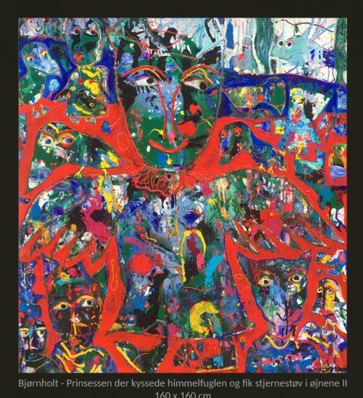 Velkommen til udstilling med malerier af BJØRNHOLT & BIRKEMOSE