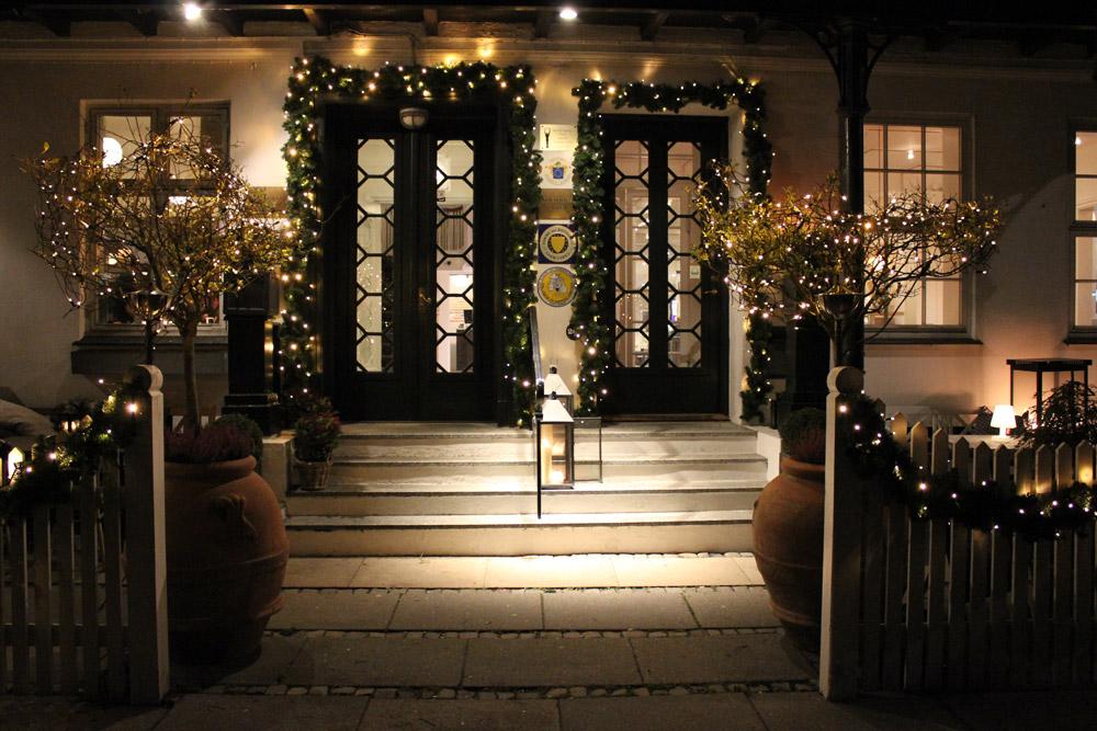 December på Skovshoved Hotel