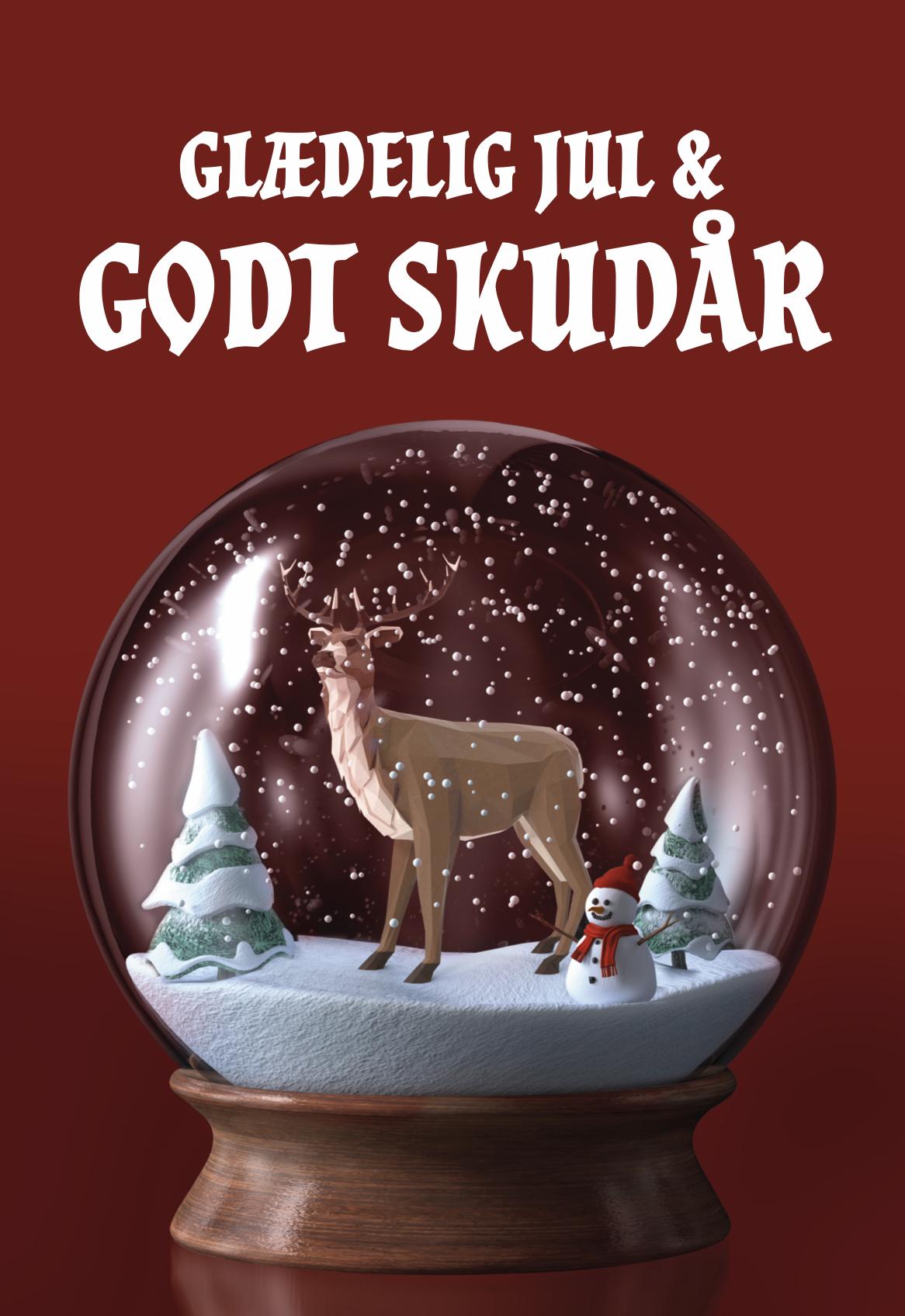 Julehilsen fra Nanckes jagtliv