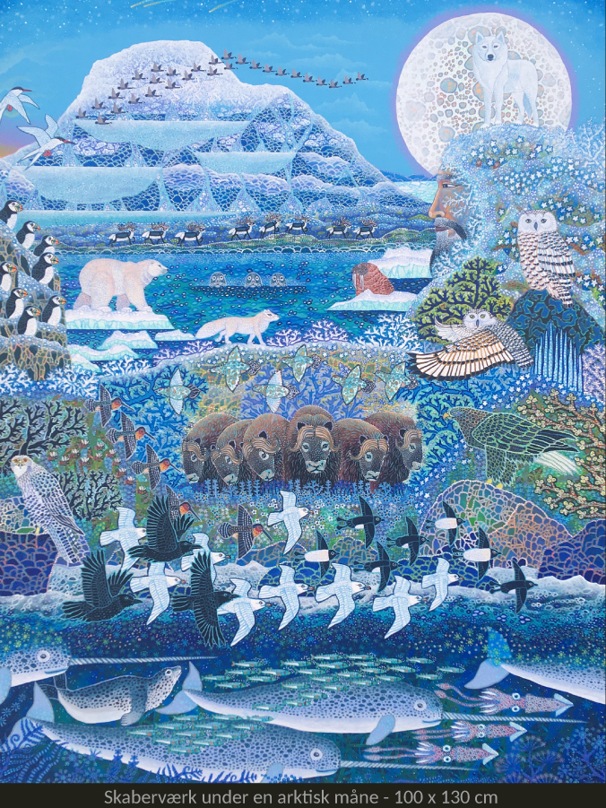 Velkommen til udstilling med eventyrlige malerier af Esben Hanefelt Kristensen