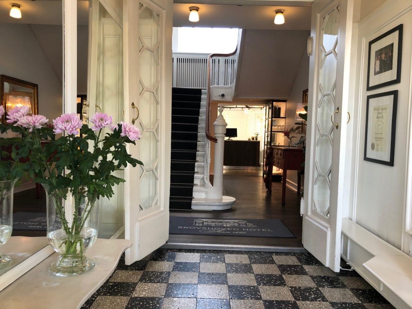 Spæde forårsfornemmelser på Skovshoved Hotel
