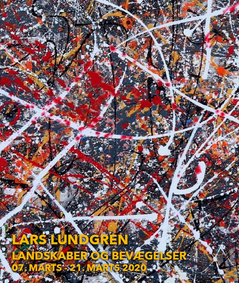 """Lars Lundgrens udstilling """"Landskaber og Bevægelser"""""""