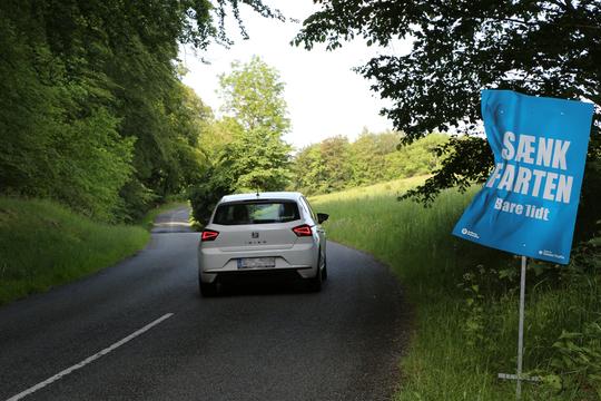 Danskerne tager afstand fra høje fartoverskridelser