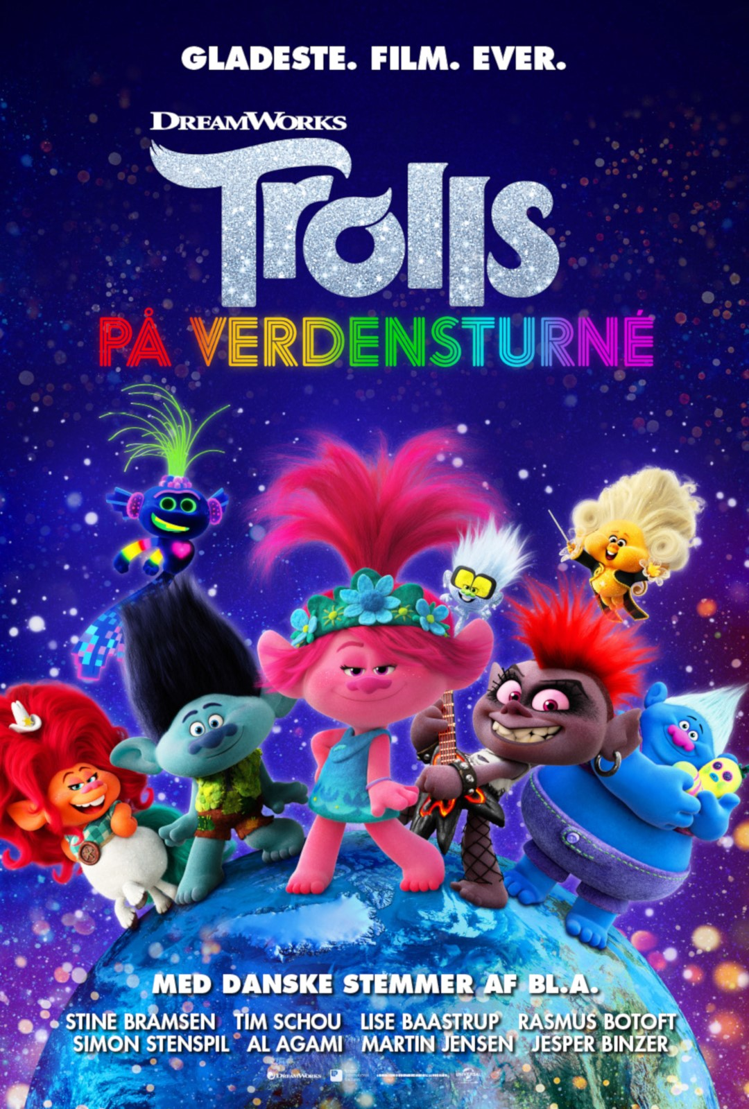 Farverig forpremiere på sommerens gladeste film