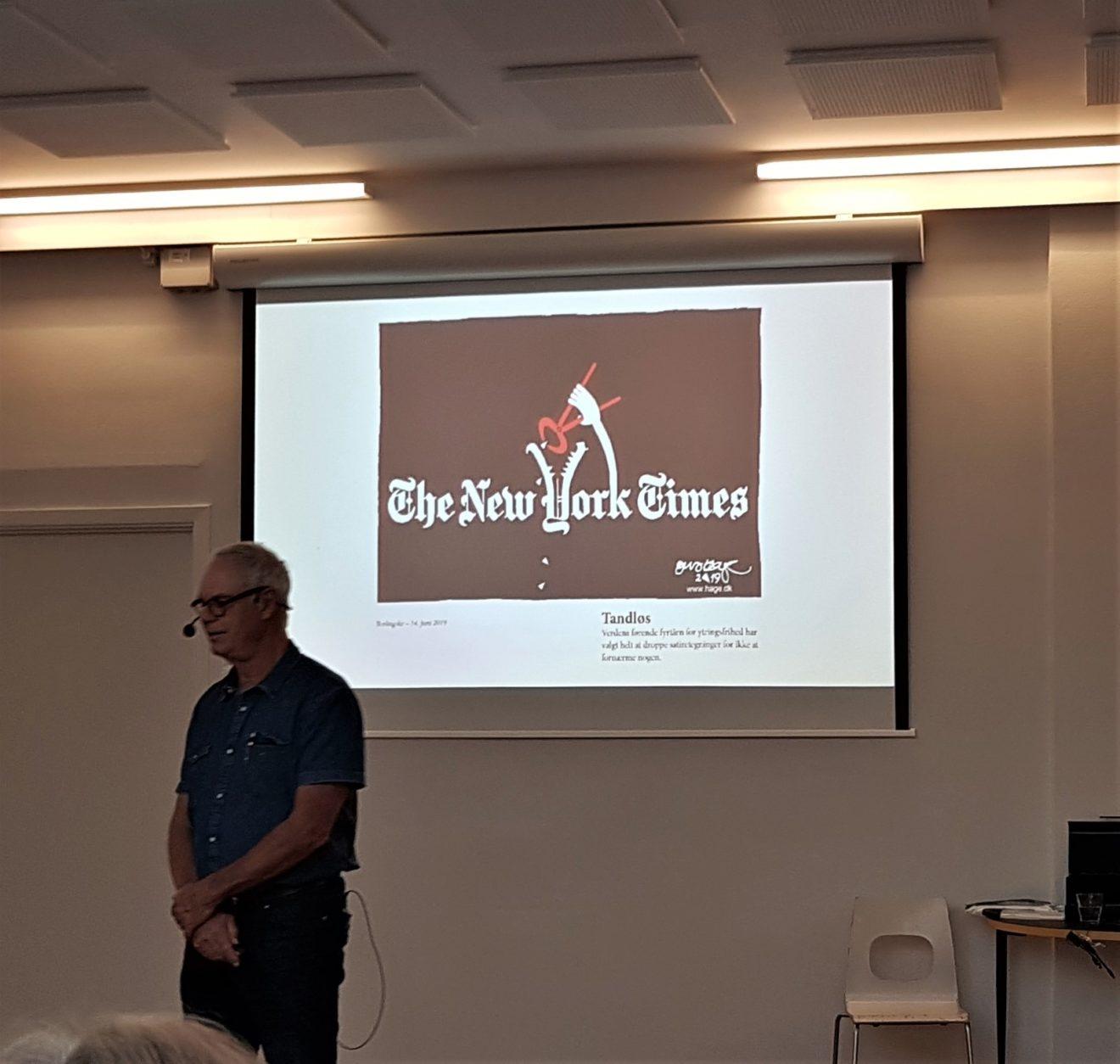 Foredrag af Jens Hage