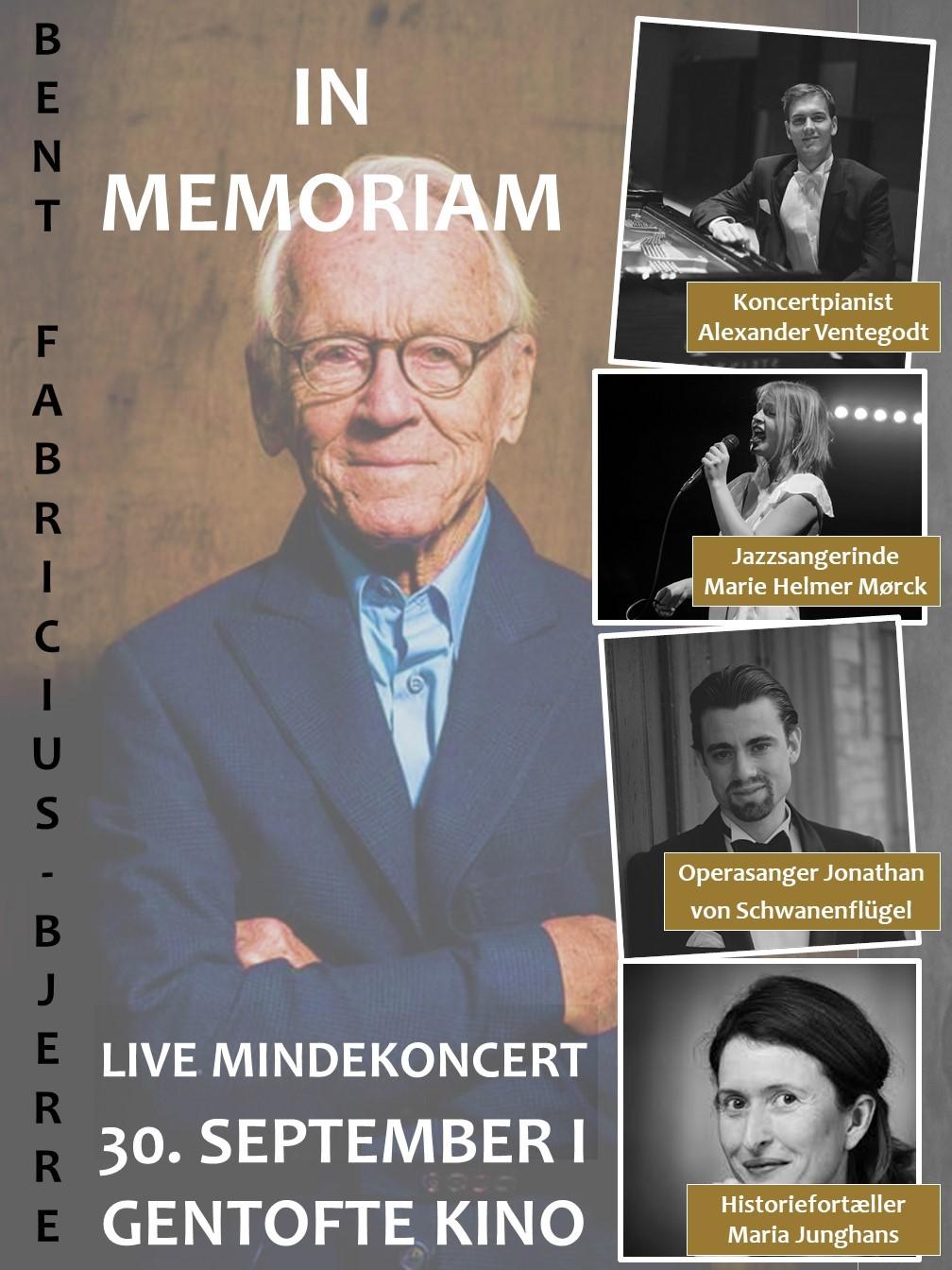 Live mindekoncert - Til ære for Bent Fabricius-Bjerre