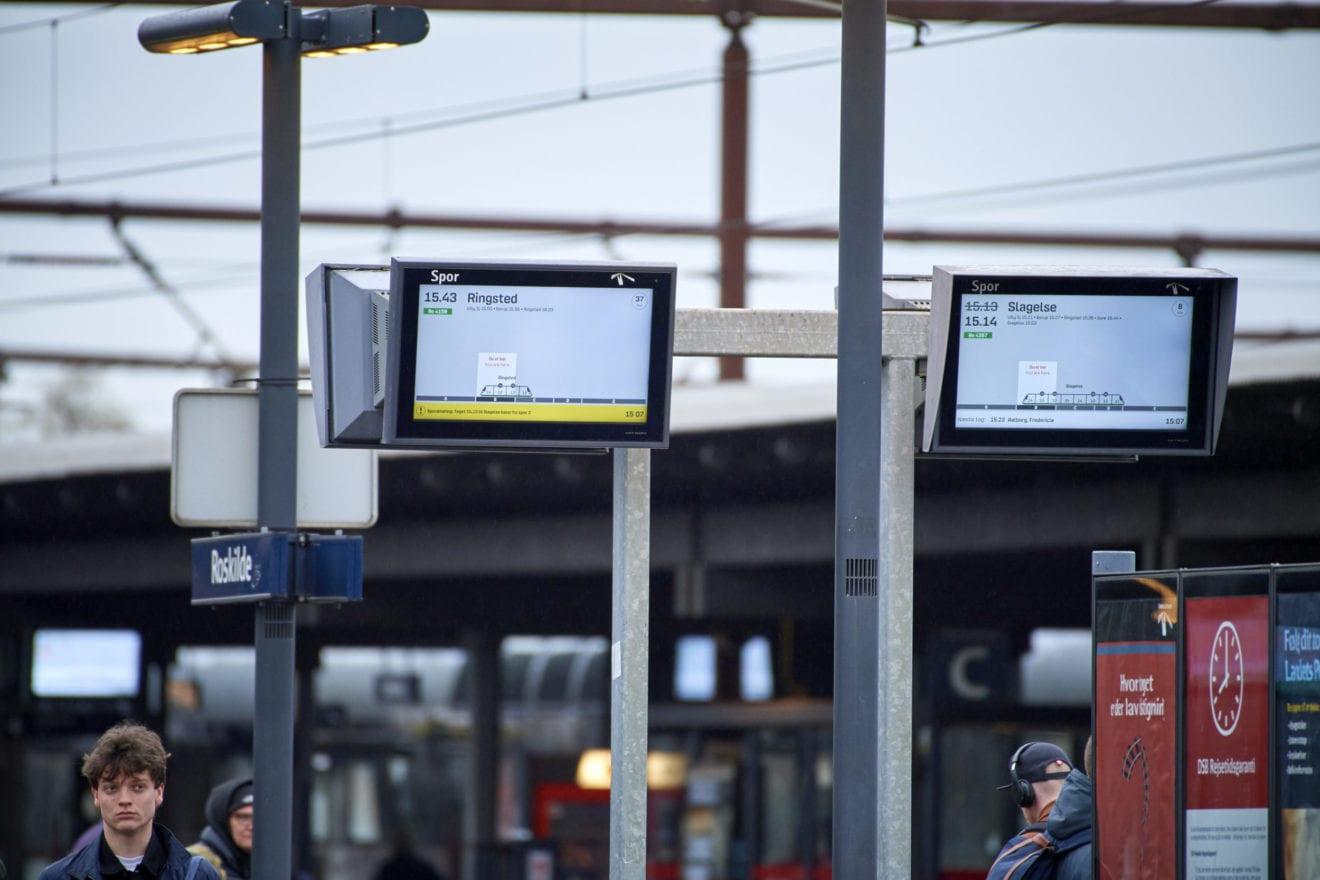 Passagerer får bedre information med nyt skærmdesign
