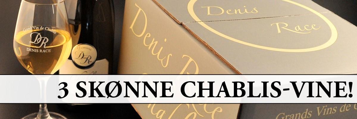 3 skønne Chablis-vine fra Holte Vinlager