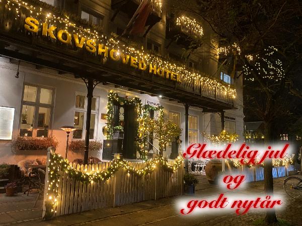 Glædelig jul & godt nytår fra Skovshoved Hotel