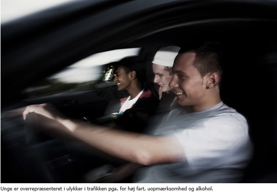 Mange unge er utrygge over venners kørsel