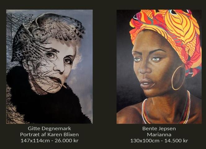 Kvinder der maler kvinder // Fernisering lørdag den 12. juli kl 11-15