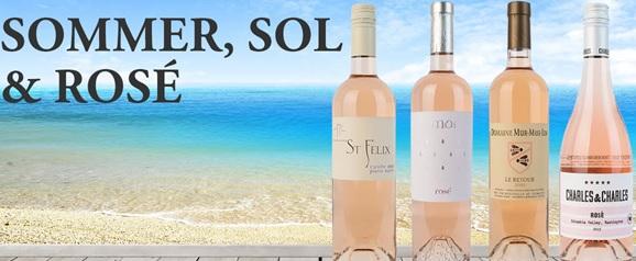 Sommer, sol og ROSÉ! ☀️