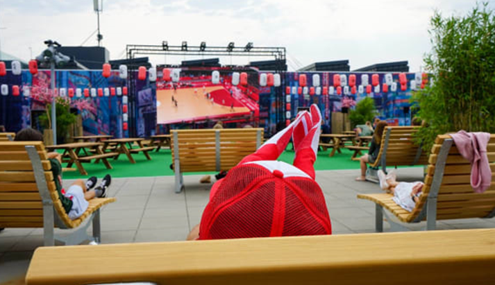 Se OL håndbold på storskærm