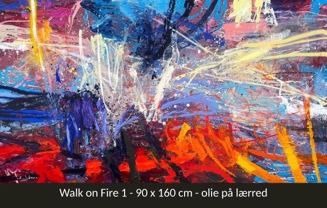 FREDERIK LINDSKOV // WALK ON FIRE // 10. juli kl. 11 - 15